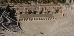 Amphitheater in Jordanien