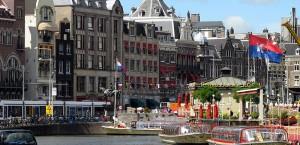 Amsterdam, Innenstadt in Amsterdam