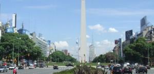 Buenos Aires, Argentinien in Argentinien