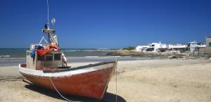 Cabo Poloniu Beach in Uruguay
