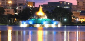 Orlando Fountain in Orlando