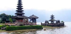 Der botanische Garten Bedugul auf Bali, Indonesien in Indonesien
