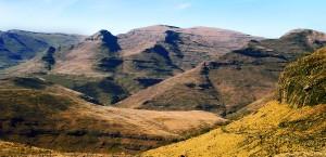 Berge in Lesotho in Lesotho