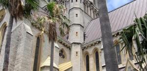 Eine Kirche auf Bermuda in Bermuda