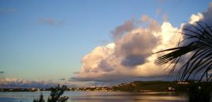 Ein Sonnenuntergang auf Bermuda in Bermuda