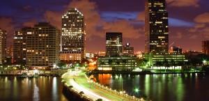 Biscayne Bay in Miami in Miami