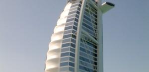 Das Hotel Burj al Arab in Dubai in Dubai