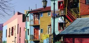 La Boca, italienisch geprägtes Viertel in Buenos Aires in Buenos Aires