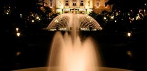 Das Casino von Monte-Carlo in Monaco in Monaco