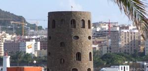 Ein Fort in Ceuta, Spanien in Ceuta