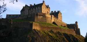 Edinburgh Castle in Edinburgh