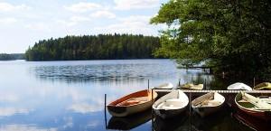 See im Nationalpark Nuuksio in FInnland in Finnland