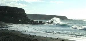 Der Strand auf Fuerteventura in Fuerteventura