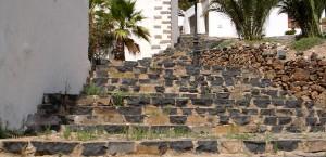 Ein typisches Wohnhaus auf Fuerteventura in Fuerteventura