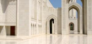DIe Große Moschee in Maskat im Oman in Oman