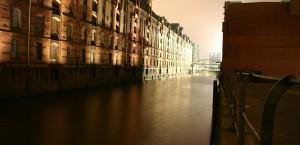 Die Speicherstadt in Hamburg in Hamburg