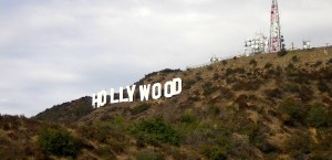 Das berühmte Hollywood-Sign in Los Angeles in Los Angeles