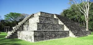 Die Copan-Ruinen in Honduras in Honduras