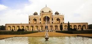 Das Mausoleum von Humayun in Delhi in Delhi