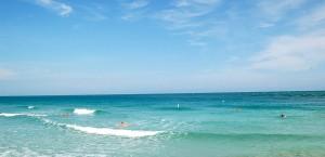 Der Strand von Ibiza in Ibiza
