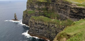 Die Cliffs of Moher in Irland in Irland