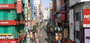 Das Viertel Shinjuku in Tokio, Japan in Tokio