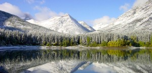 Typische Landschaft in Kanada in Kanada