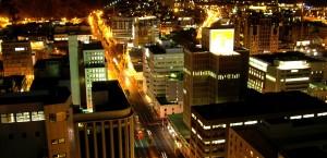 Kapstadt bei Nacht in Kapstadt
