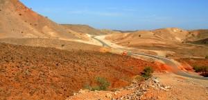 Typische Landschaft im Oman in Oman