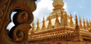 Die Königliche Stupa in Vientiane, Laos in Laos
