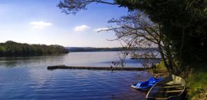 Der Lough Erne in Nordirland in Nordirland