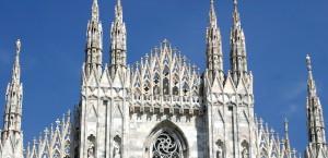 Der Mailänder Dom in Mailand in Mailand