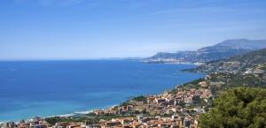 Panoramablick über Monaco in Monaco