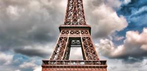 Das Wahrzeichen von Paris, der Eiffelturm in Paris