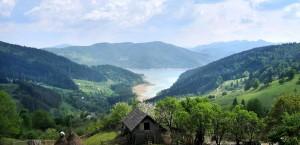 Typische Landschaft in Rumänien in Rumänien