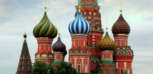 Die Basilikus-Kathedrale in Moskau in Russland
