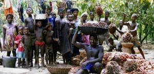 Dorfbevölkerung in Sierra Leone in Sierra Leone