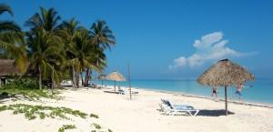 Einer der Strände von Jamaika in Jamaika