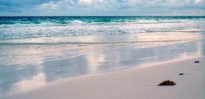 Der Strand von Cancún in Cancun
