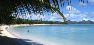 Strand auf den Yasawa-Inseln, Fidschi in Fidschi