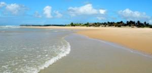 Strand in Mosambik in Mosambik