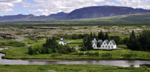 Thingvellir in Island in Island