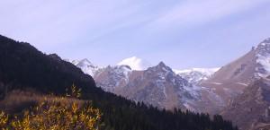 Das Tianshan-Gebirge in Kirgisistan in Kirgisistan